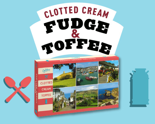 Bristows Clotted Cream Toffee & Fudge